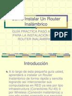 Router coneccion