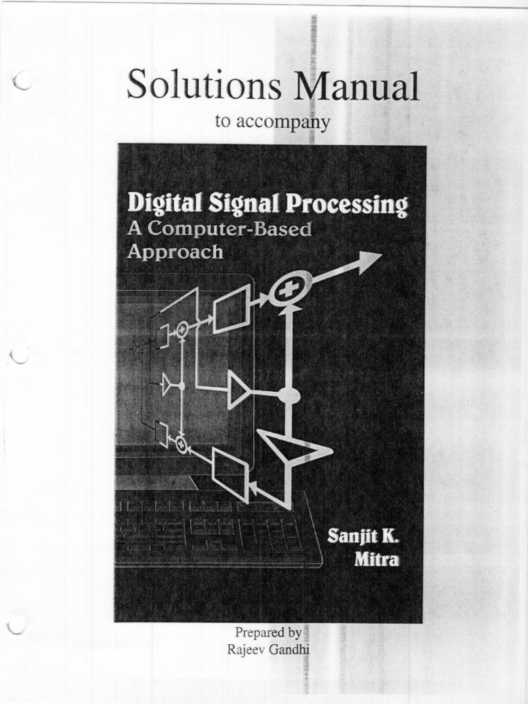 digital signal processing mitra solution manual rh scribd com digital signal processing sanjit k mitra 4th edition solution manual