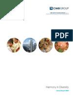 CIMB Annual Report 2009