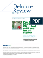 US Deloittereview Im Okay Youre Okay but Will We Be All Right Jul11