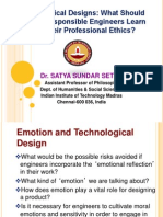 Professional Ethics (Lecture-2) 2013