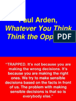 Paul Arden Think the Opposite 052706