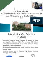 lukcs sndor school