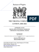 The Virginia Company of London 1606 -1624