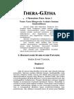 Theragatha, Nyanyian Para Arya