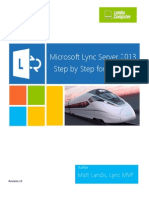 Microsoft Lync Server 2013 Step by Step for Anyone_REV013