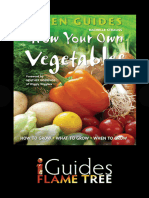Green Guide - Grow Your Own Vegetables