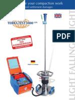 Terratest 3000- Englih Brochure