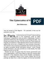 The Cybercafes of Paris by Bob Biderman