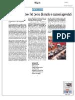 Rassegna Stampa 15.09.2013
