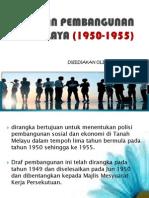 Pelan Pembangunan Malaya (1950-1955)