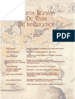 Revista Romana de Studii de Intelligence