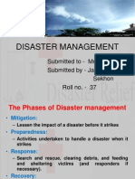 4.Disaster Management