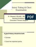4-History Taking & Chest Examination