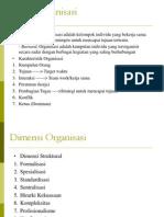 Teori-Organisasi