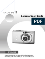 Canon Digital Ixus 95 is Manual PDF
