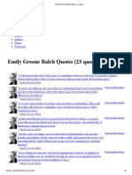 Emily Greene Balch Quotes - Iz Quotes