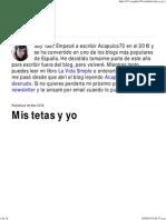Mis Tetas y Yo _ Acapulco70