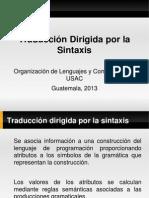 09-Traduccion Dirigida Por La Sintaxis