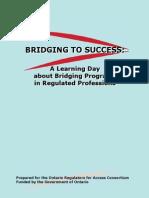 Bridging Success