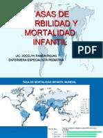 2.Tasas de Morbilidad y Mortalidad Infantil