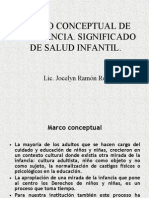 5.Marco Conceptual de La Infancia. Significado de Salud Infantil.