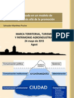 Presentación Jornadas AGOST (marca territorial)