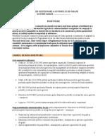 Regulament Local - Propunere Managementul Gunoilui de Grajd