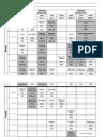 BE Schedule(FA 13)