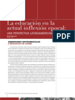 Educ Act Inflexion Epocal, Clase 1