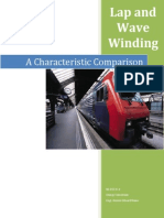 CHARACTERISTIC COMPARISONS OF WAVE AND LAP WINDING