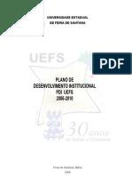 Plano desenvolvimento Institucional