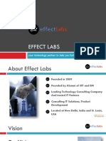Effect Labs Corporate Profile