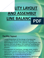 Facility Layout and Assembly Line Balancing
