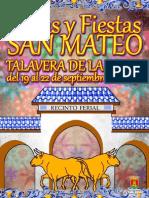 Talavera Programa Ferias San Mateo 2013