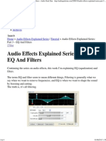 Audio Effects Explained Series_ Part 3 – EQ And Filters « Audio Geek Zine