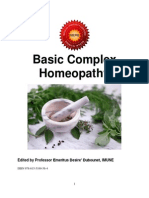 130357212 Basic Complex Homeopathy