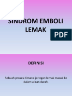 SINDROM EMBOLI LEMAK