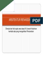 6 - Arsitektur Renaissance [Compatibility Mode]