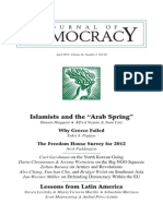 Islamists and Democracy