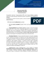 Rezumatul Adunarii Politice PPE - 5 Sept 2013 - Bruxelles