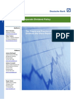 Corporate Dividend Policy - Full Paper