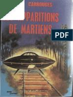 Carrouges Michel - Les Apparitions de Martiens....!!!