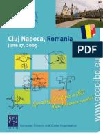 Announcement RomaniaWS 2009
