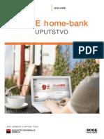 SoGe Home Bank Uputstvo