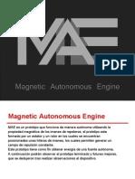 Magnetic Autonomous Engine