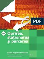 04 m Oprirea Stationarea Parcarea