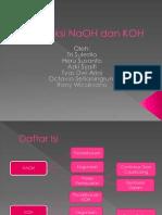 Produksi NaOH Dan KOH
