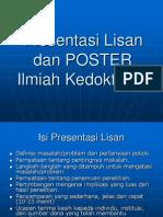 Presentasi Lisan Dan POSTER