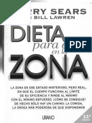 Descargar libro dieta de la zona pdf gratis